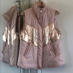 Rose Gold Blush Vest